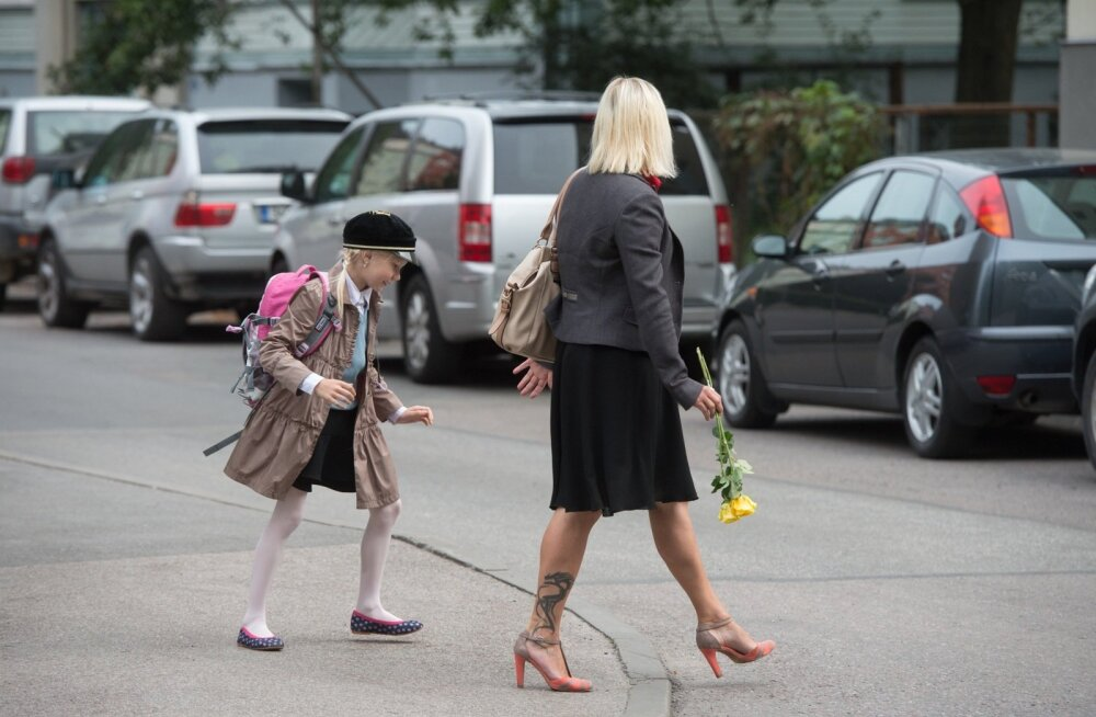 Esimene koolipäev Tallinna XXI Keskkoolis