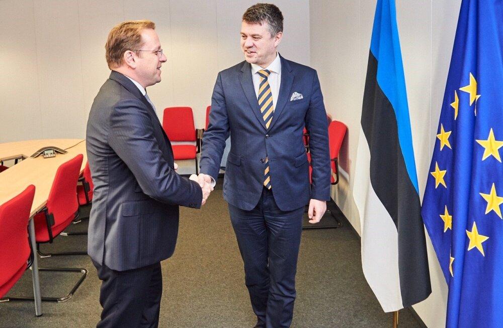Reinsalu Euroopa Komisjoni esindajale: otsus Albaania ja Põhja-Makedoonia Euroopa liitu astumise osas tuleb teha märtsis