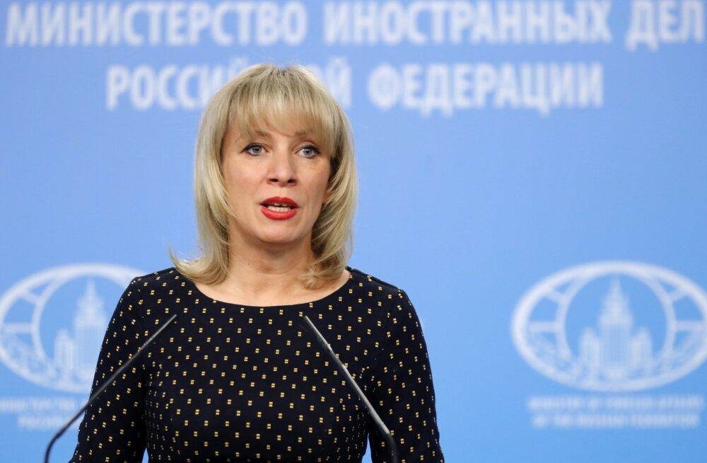 Vene välisministeeriumi esindaja Zahharova: May korraldas Briti parlamendis tsirkusesõu