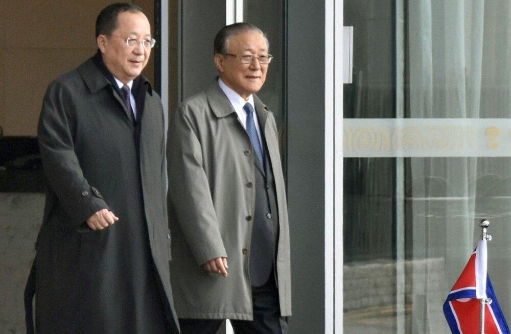 Mõlema Korea ja USA esindajad kohtuvad Soomes