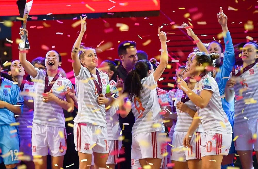 Naiste saalijalgpall: Euroopa hääletab poolt!