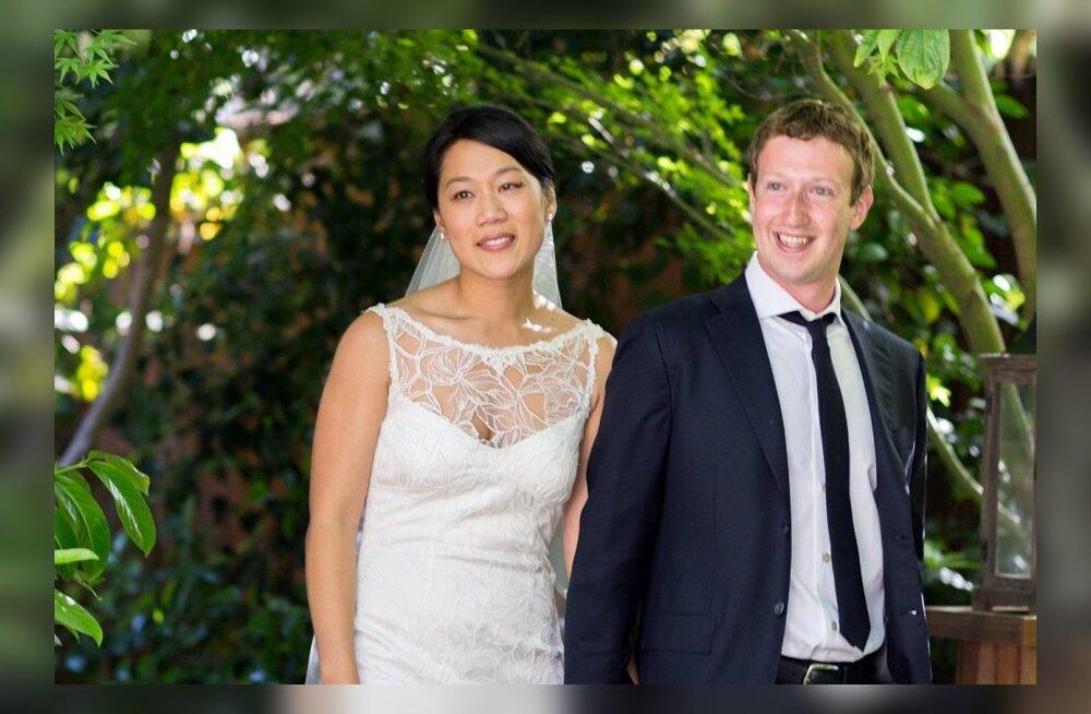 Facebooki looja Mark Zuckerbergi kaasa pulmakleit maksis 3700 eurot!