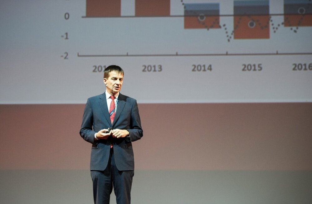Ardo Hansson konverentsil Äriplaan 2018.