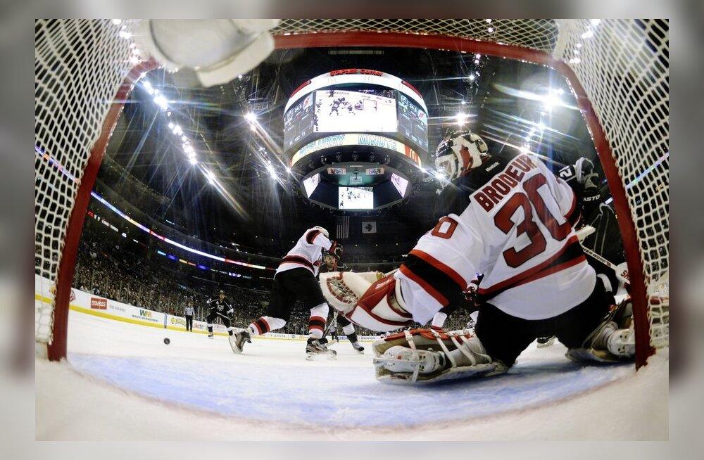 New Jersey Devilsi väravavaht Martin Brodeur