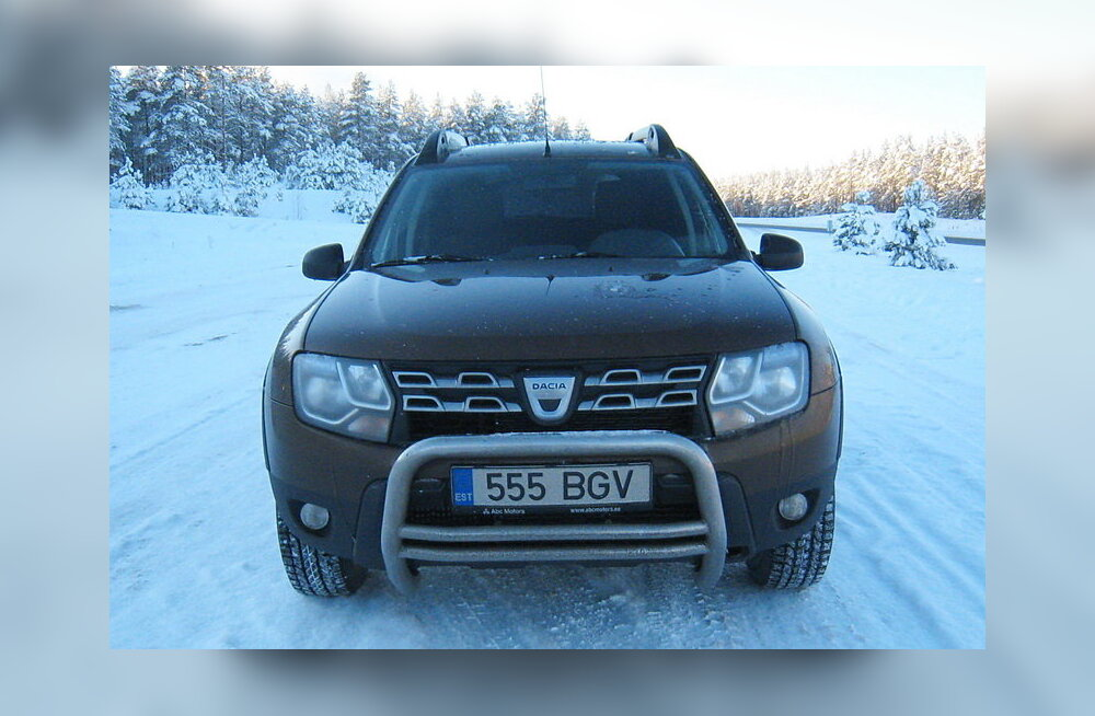 PROOVISÕIT: Dacia Duster - Uuenenud tolmutaja autode reas