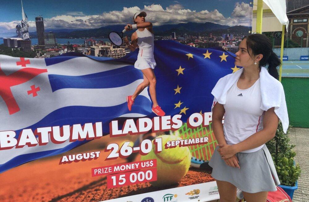 Gruusias võidukalt alustanud Katriin Saar teenis välja WTA edetabelikoha