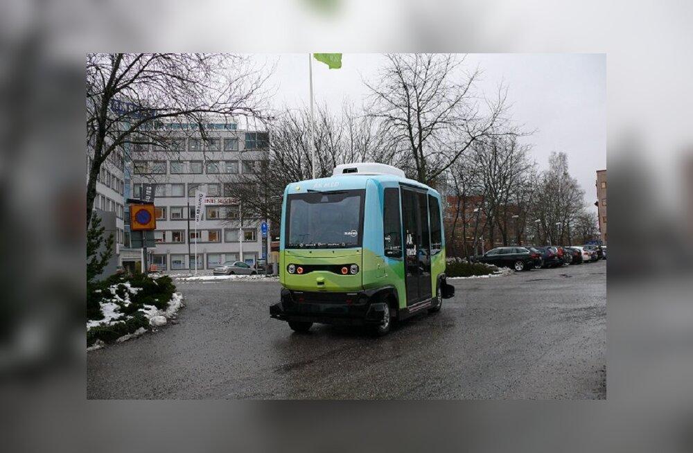 В Стокгольме запускают бесплатные беспилотные автобусы