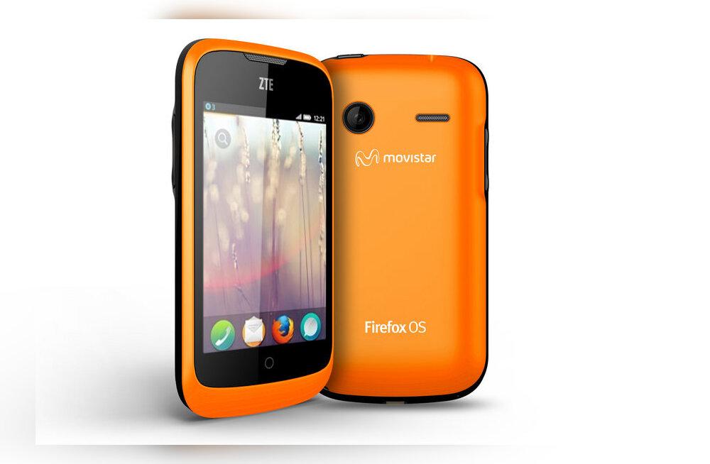 Nutitelefonide maailm taas põnevam – Firefoxi-seadmed nüüd turul!