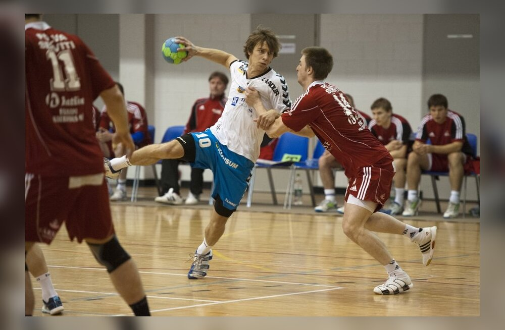 Käsipalli finaalmäng Kehra-Serviti