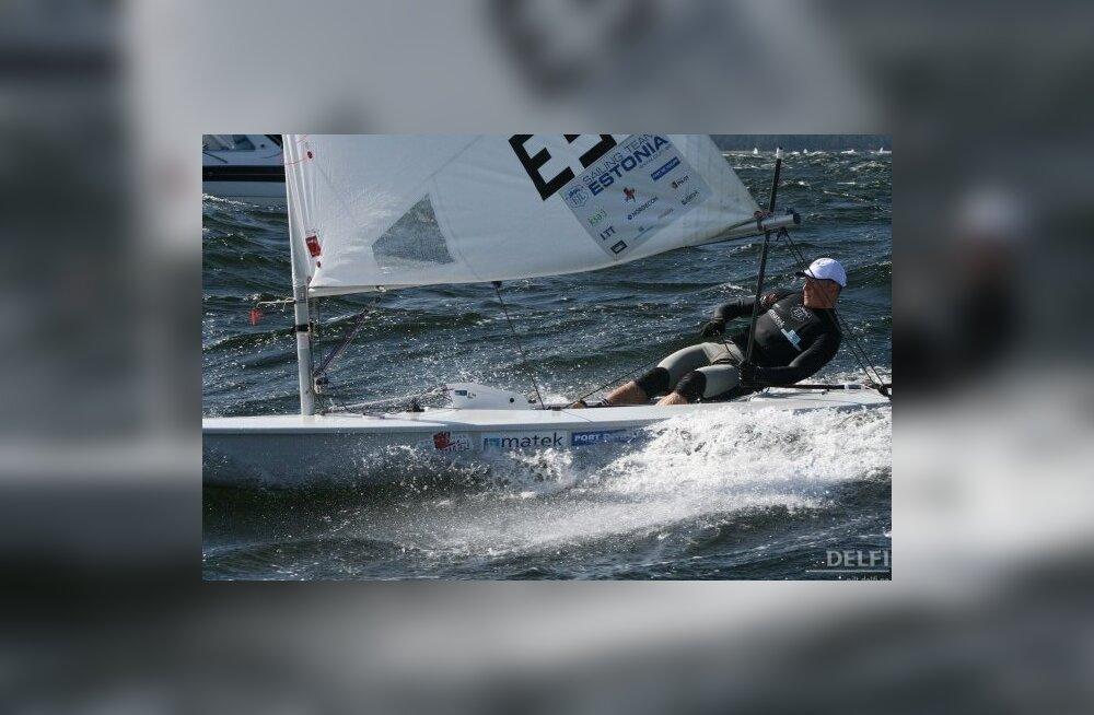 Anna Pohlak ja Karl-Martin Rammo pääsesid purjetamise EM-il kuldgruppi