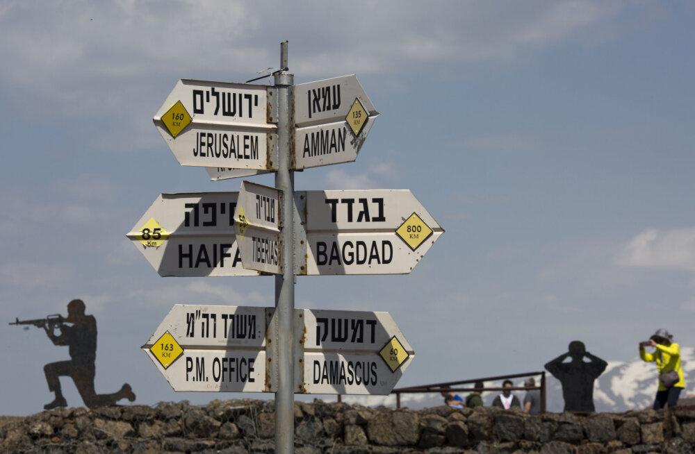Süüria lubas Golani kõrgendikud Iisraelilt tagasi võtta