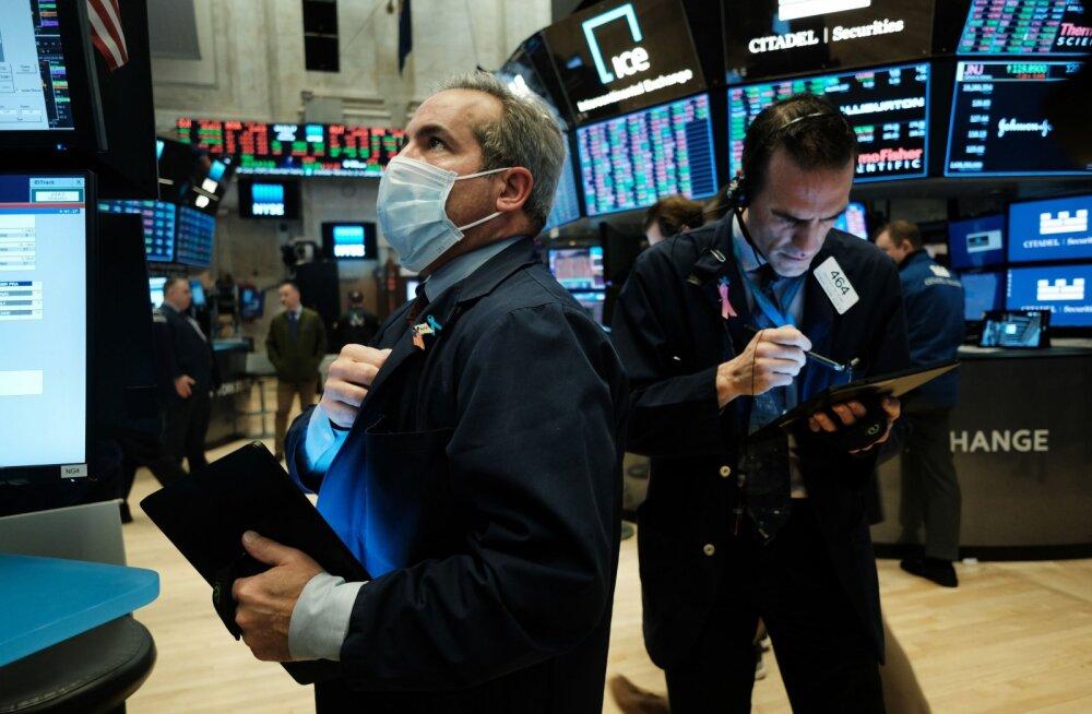 GRAAFIK | USA kahe triljoni dollarilise paketi kokkulepe käivitas võimsa börsitõusu