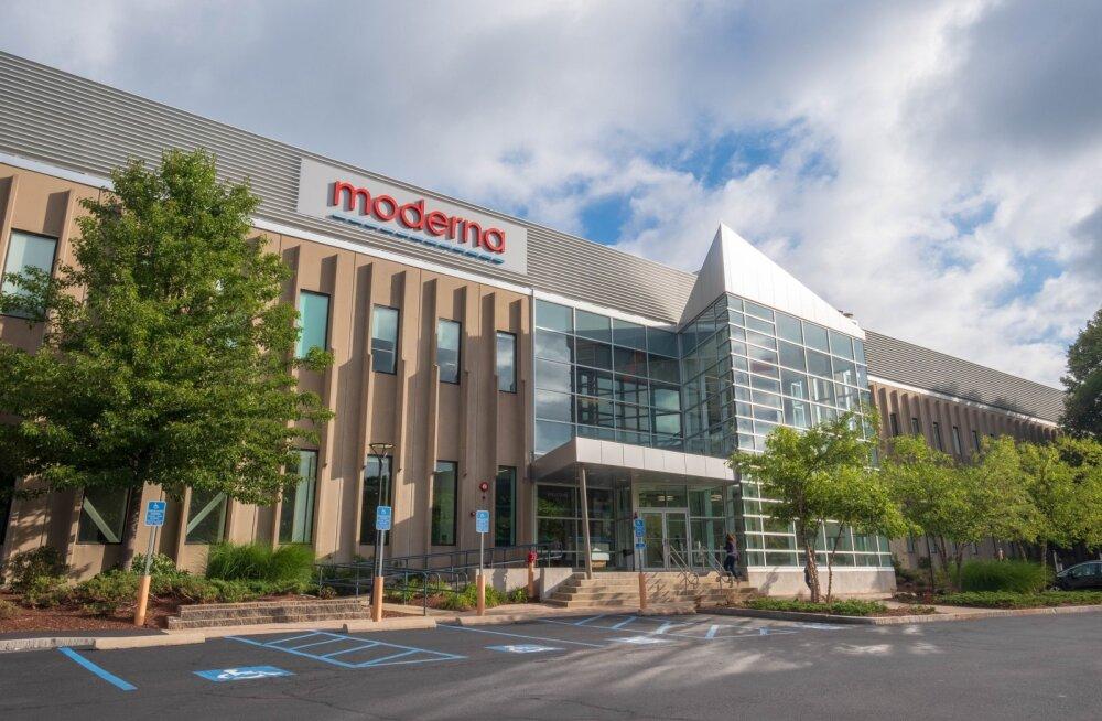 Mis ettevõte on koroonavaktsiini katsetustega edasijõudnud börsirakett Moderna?