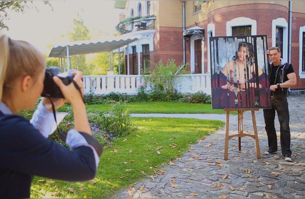FOTOD | Madonnast hoorani! Mart Sander avas oma suurima isikunäituse, LOE tema 3 maali imetabast sünnilugu