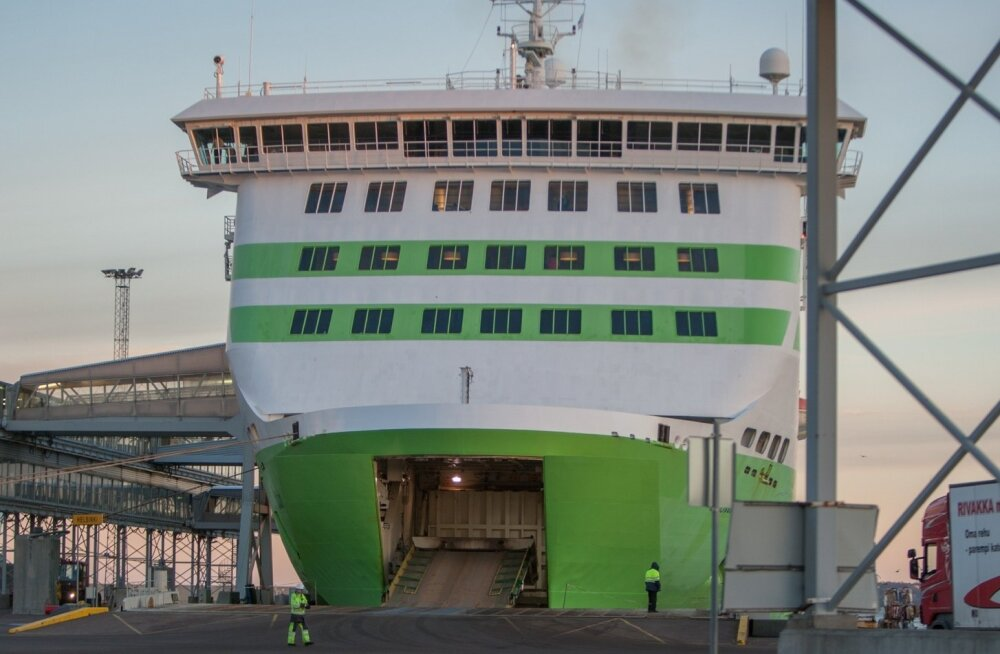 Tallink Star sadamas