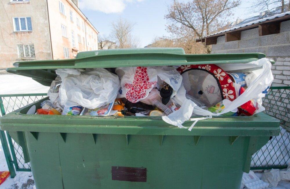 Занимающееся в Силламяэ вывозом мусора предприятие хочет повысить плату на 80 процентов