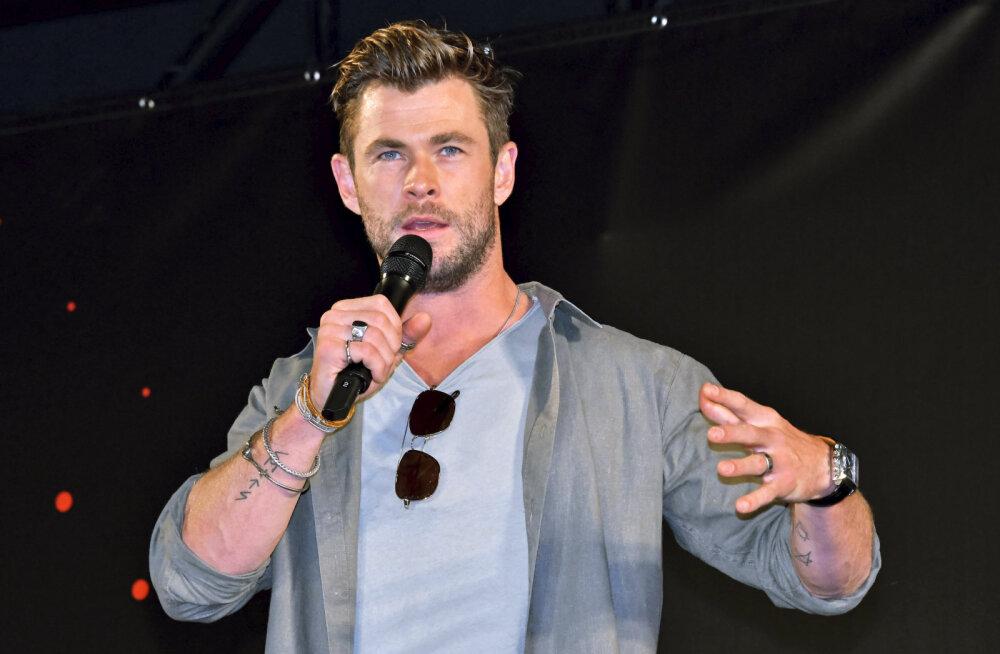 Milline eeskuju! Chris Hemsworth annetas Austraalia tulekahjuga võitlemiseks loodud fondi üüratu summa