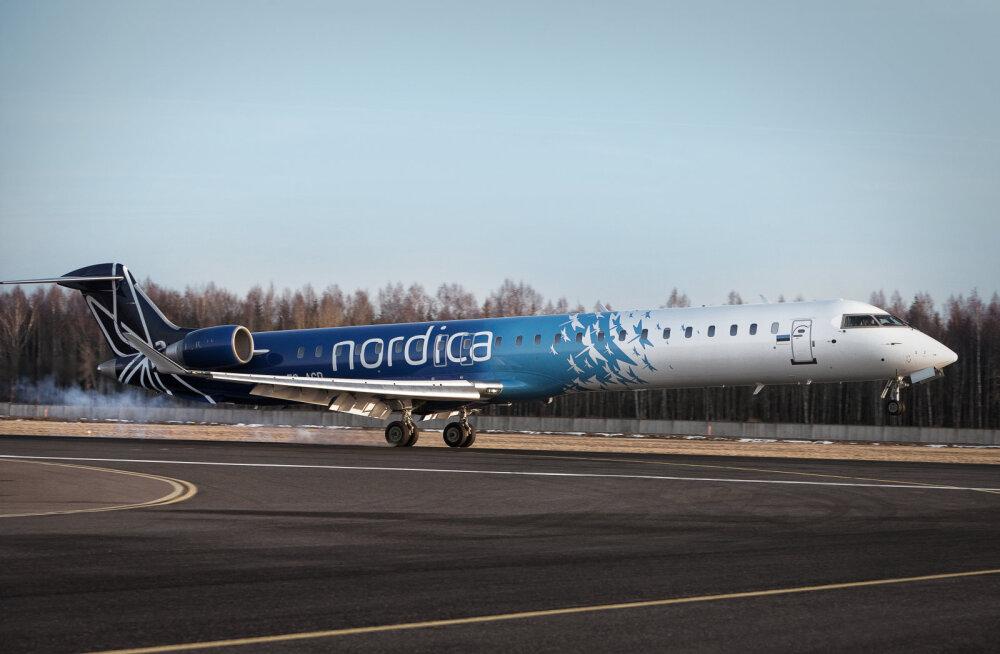 Homme pannakse laulukaare all püsti üle 1000 iPadi Nordica lennukite kokpittidest