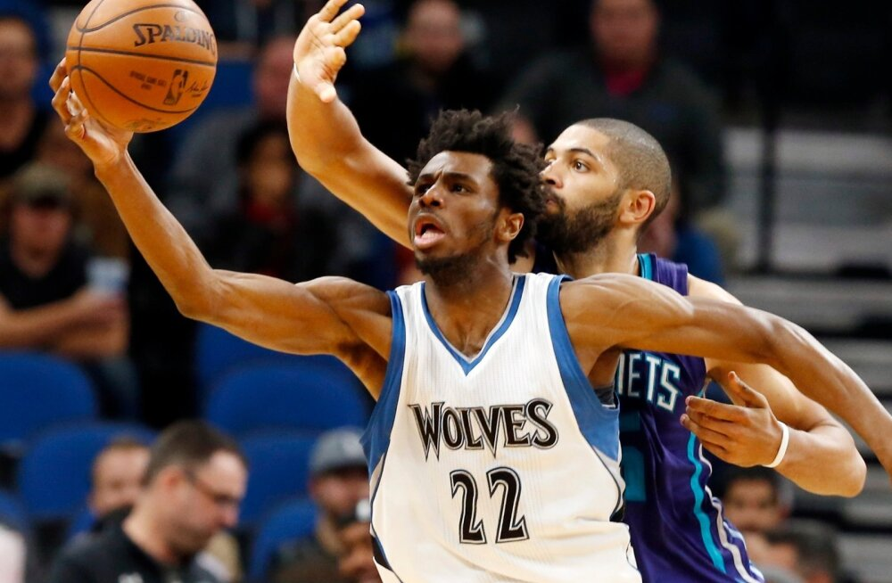 Hornets Timberwolves Basketball