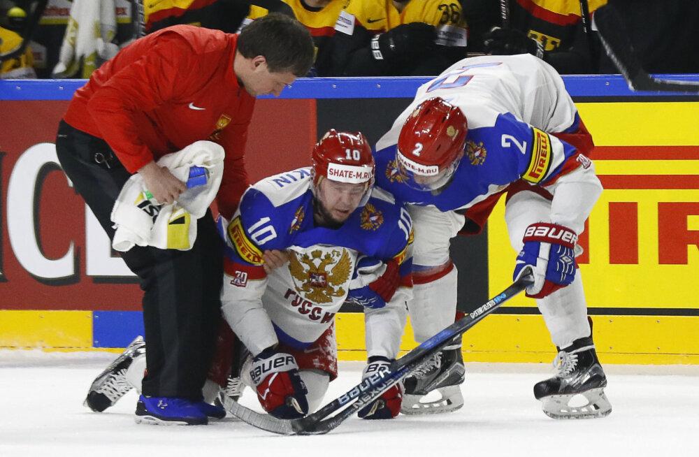Sergei Mozjakin pärast Hageri tehtud viga