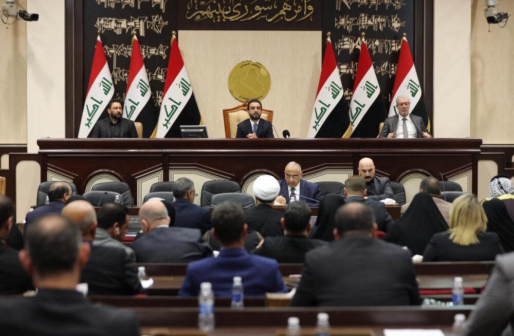 Iraagi parlament üritab koalitsiooniväed riigist välja saata