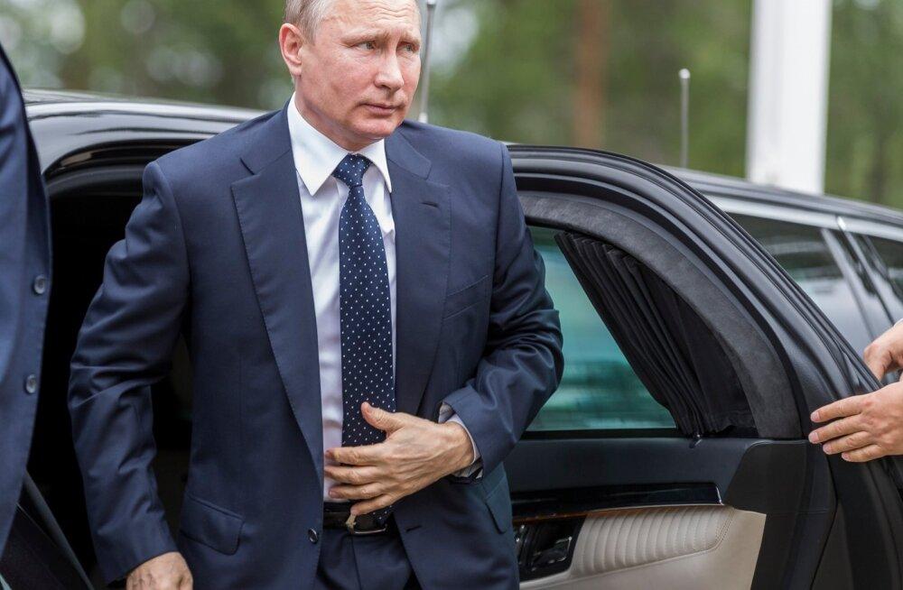 Venemaa president Vladimir Putin ja teda võõrustav Soome riigipea Sauli Niinistö andsid Savonlinna lähedal Punkaharjus pressikonverentsi.
