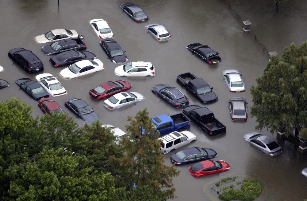 Orkaan Harvey tõttu hävis Houstonis kokku kuni miljon autot