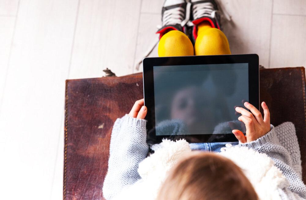 Ekspert: lastele tuleks küberturvalisusest hakata rääkima juba lasteaias