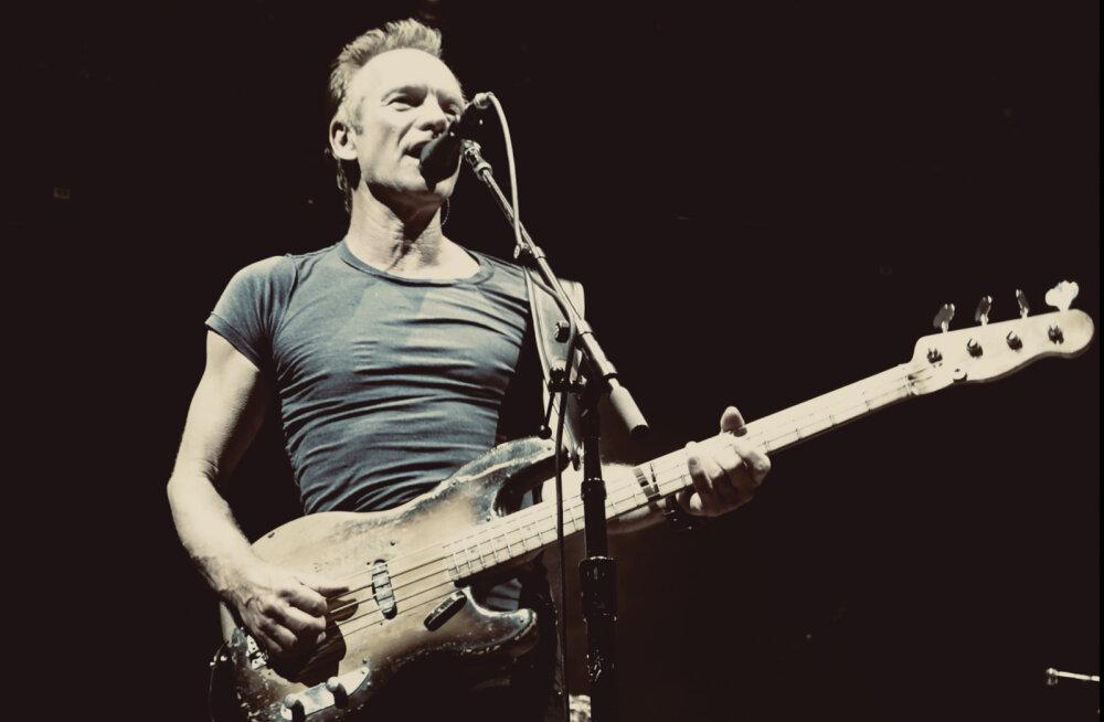 Suurepärane muusikauudis: Sting tuleb Tallinnasse oma karjääri parimate palade tuuri raames!