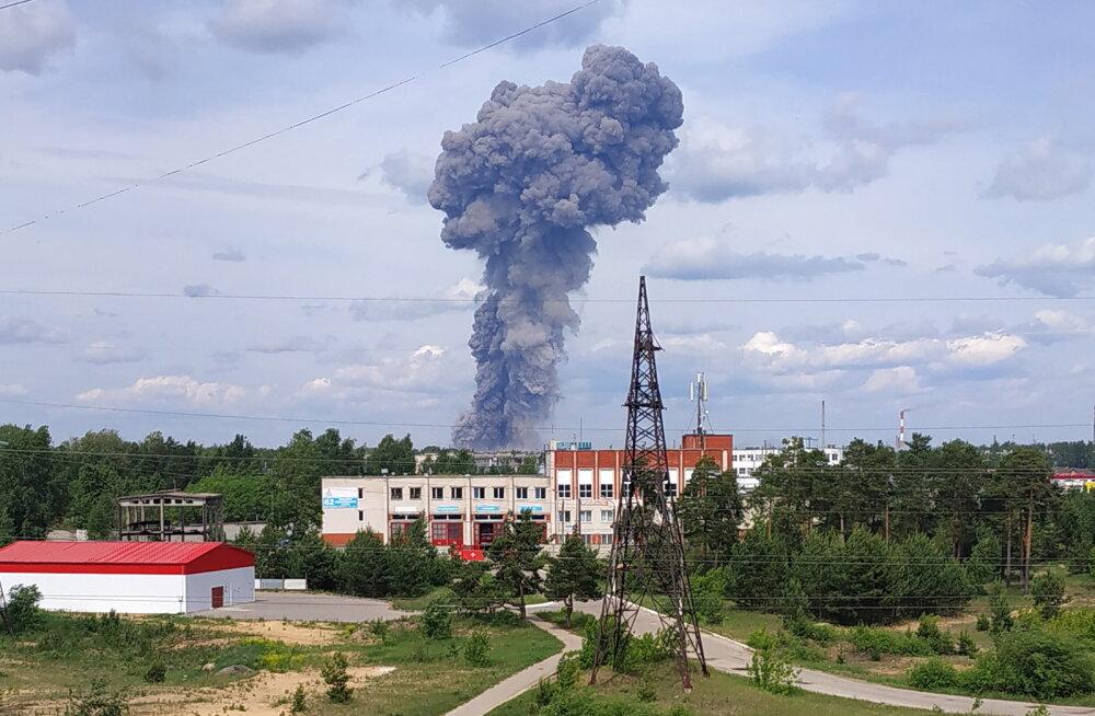 Число пострадавших при взрывах на оборонном заводе в России достигло 116 человек