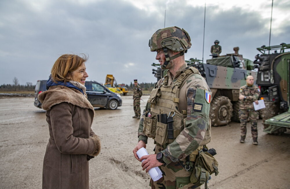 Prantsuse kaitseminister: Prantsuse sõdurite Tapal viibimine tuleb kasuks ka Mali missioonile