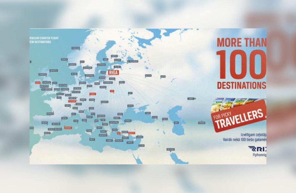 106 прямых направлений и открытие новых рейсов: чем еще в летний период удивит аэропорт Риги