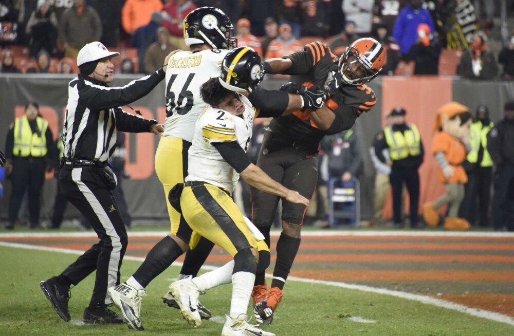 VIDEO | NFL-is puhkes massikaklus, oodata on liiga ajaloo pikimat mängukeeldu