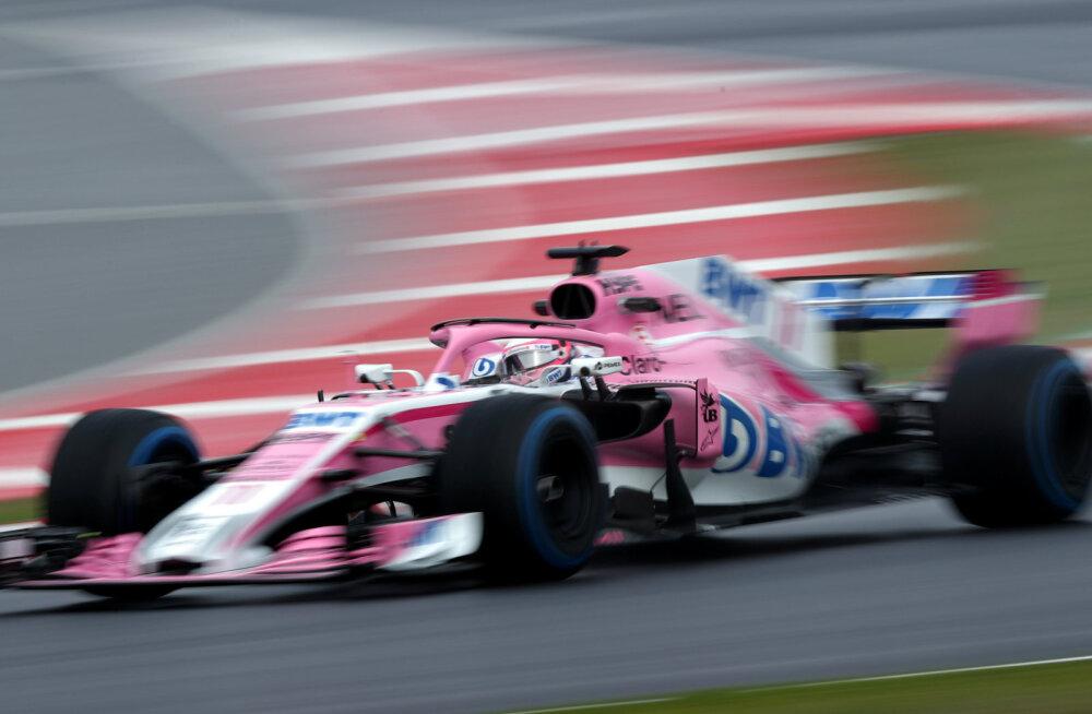 Force India nimi kaob vormel-1 sarjast