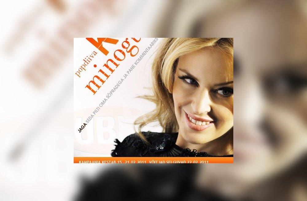 Liitu Publiku Facebookiga ja võida Kylie Minogue kontserdipiletid!
