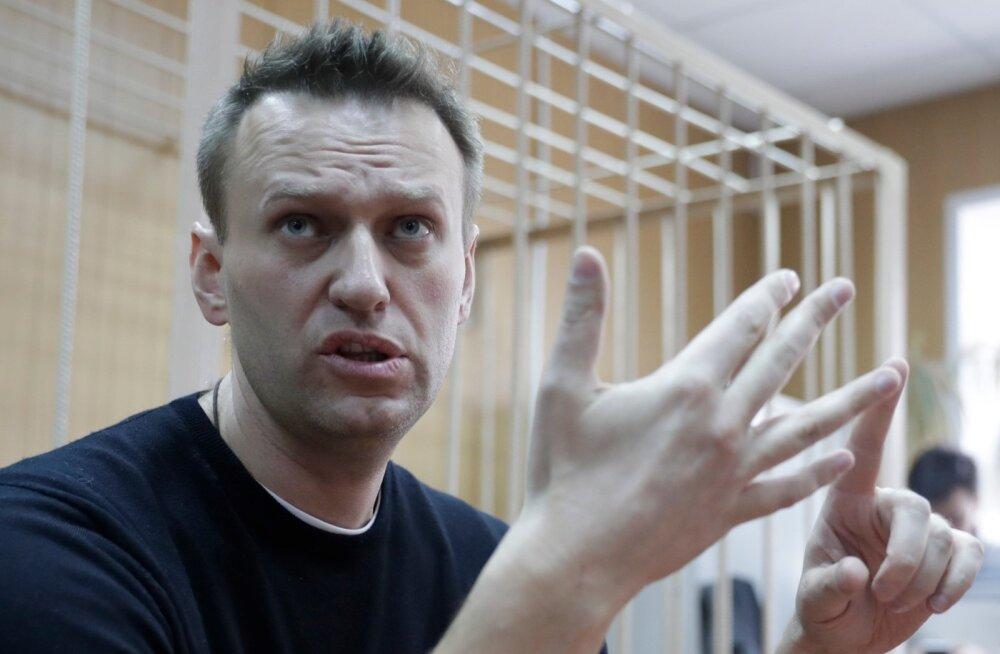 Navalnõid trahviti ebaseadusliku meeleavalduse korraldamise eest