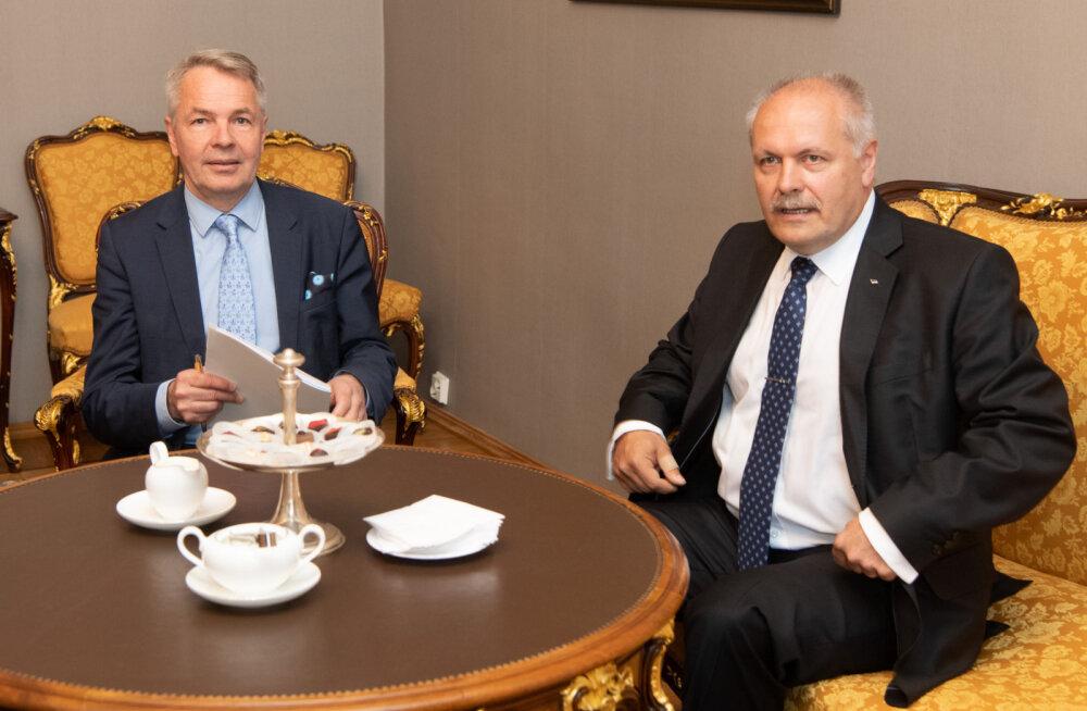 Põlluaas kohtumisel Soome välisministriga: Eesti töövõit on alkoholiaktsiisi langetamine