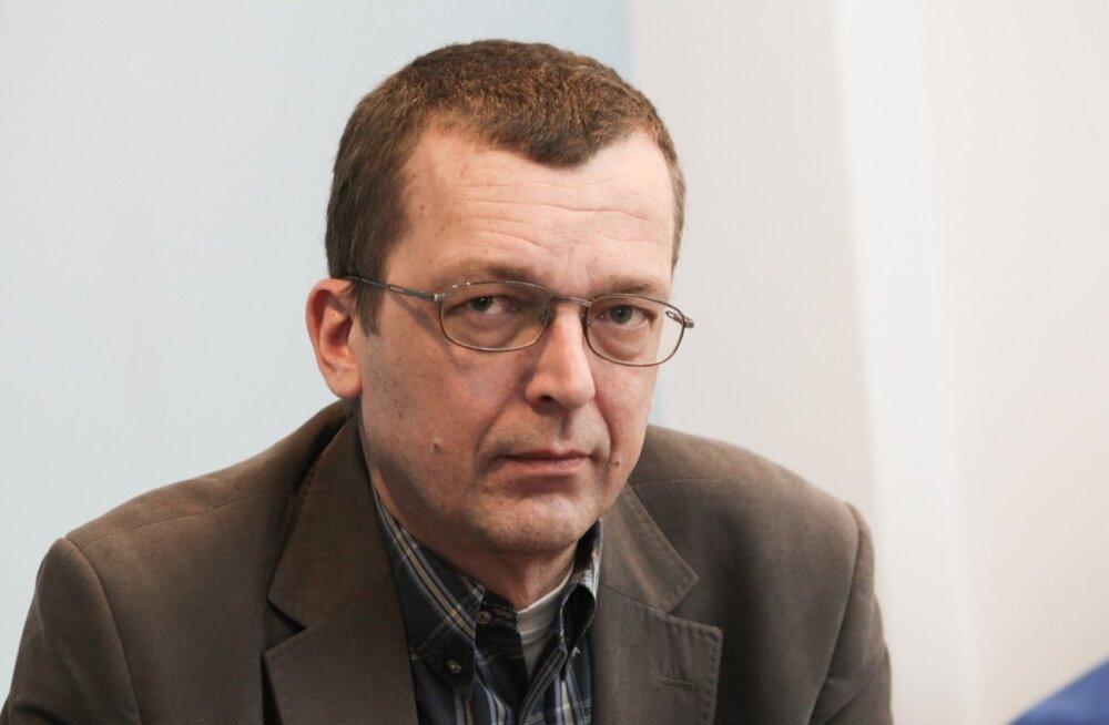 Heiki Kranich Eesti Loto kontoris.