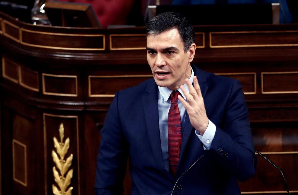 Hispaania peaminister Sánchez: tulekahju hakkab kontrolli alla saama