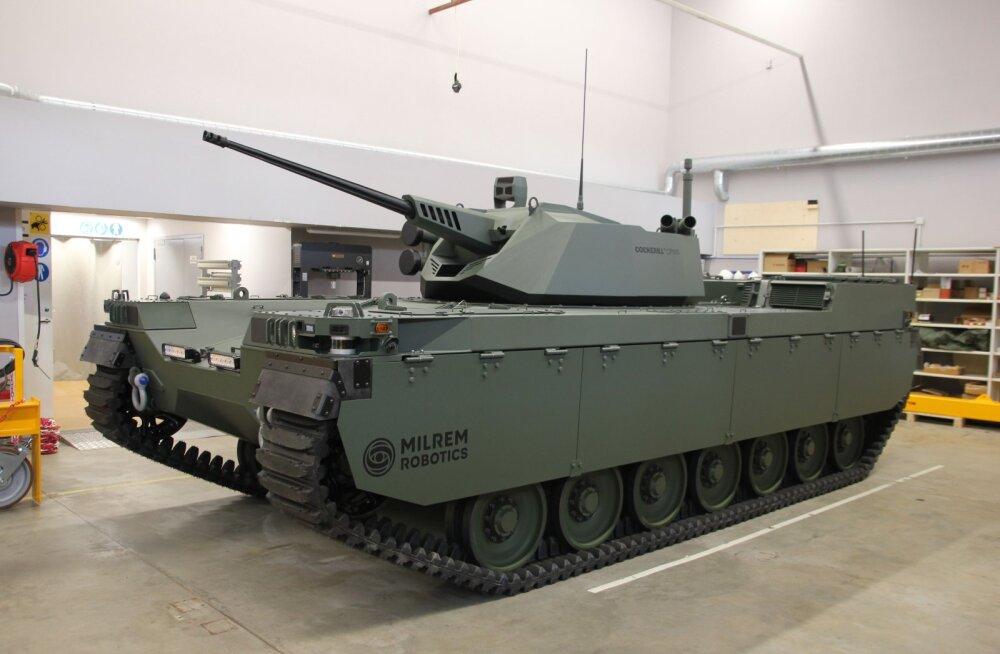Milrem esitles uut mehitamata lahingumasinat
