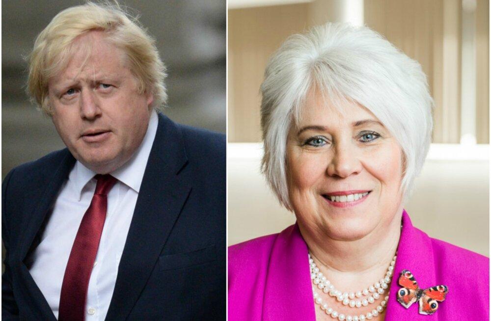 POLIITSÄUTS: Briti ajakirjaniku arvates on tippkohtumisel kõrvuti istunud Suurbritannia ja Eesti välisministrid nagu ühe vanema lapsed!