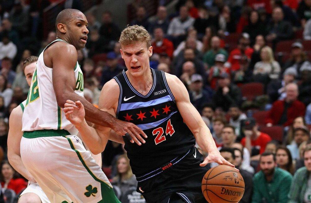 VIDEO | NBA karjääri punktirekordi visanud Markkanen vedas Bullsi võiduni, Hardenita Rockets alistas Warriorsi