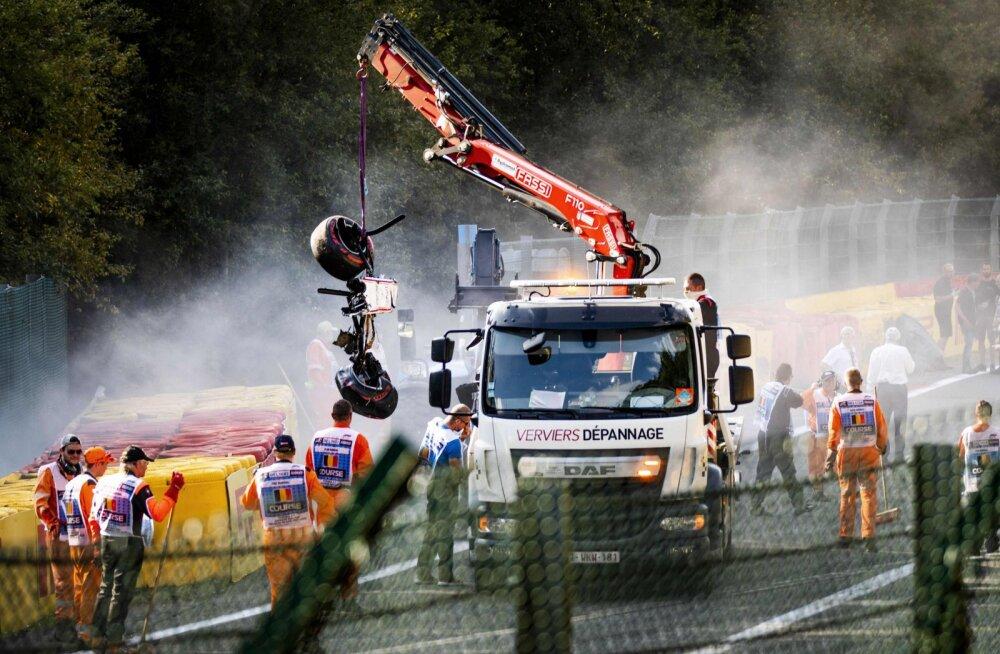 Belgias raskelt viga saanud F2 pilooti opereeriti 17 tundi