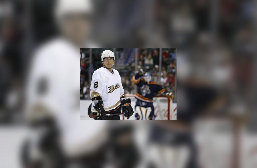 Anaheim Ducksi mängija Teemu Selänne