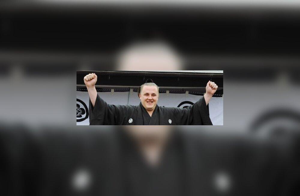 Baruto pärast pühitsemist Ozekiks, sumo