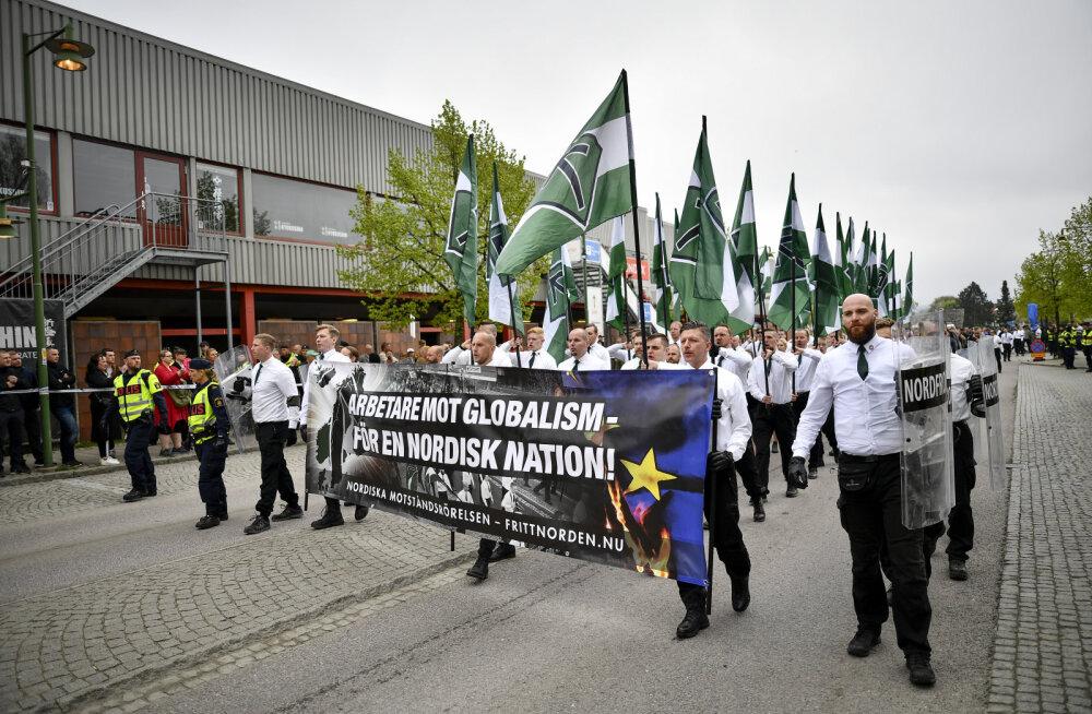 Rootsi peaminister Löfven tahab natsiorganisatsioonid keelustada