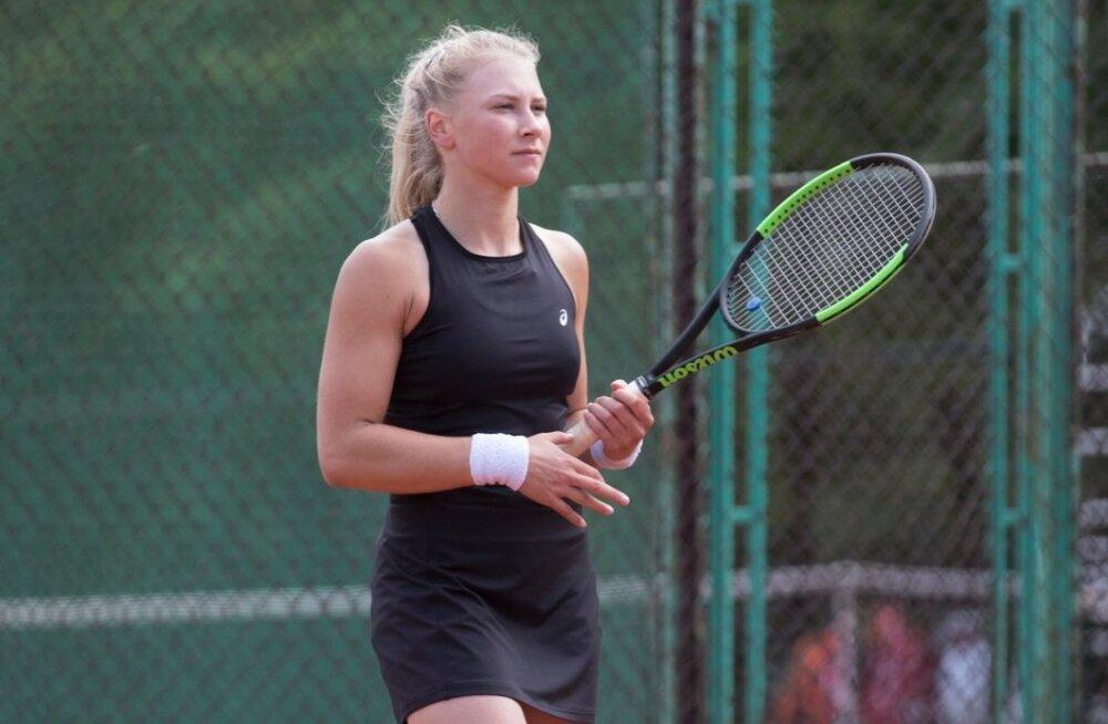 Sofia Tšeklistova harjutab kevadest saati Kaia Kanepi endise treeneri Silver Karjuse juhendamisel.
