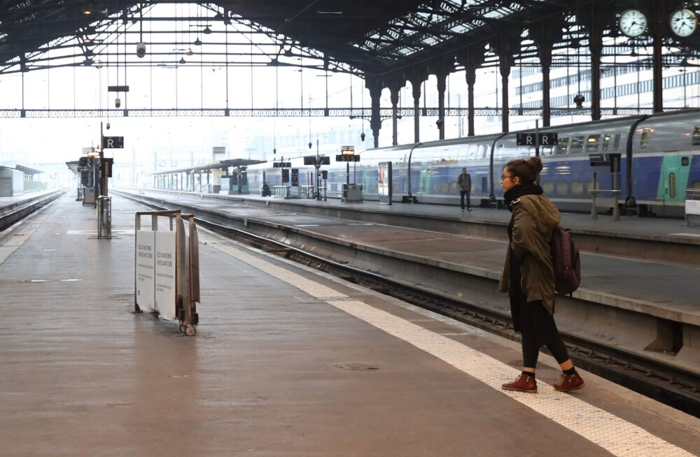 FOTOD: Streik jätkub: Prantsusmaa rongiliikluses on suured katkestused