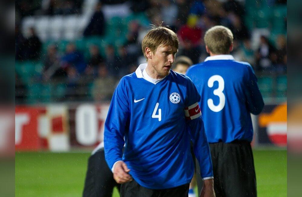 KAHJU: Eesti jalgpallikoondis kaotas Balti turniiril Leedule