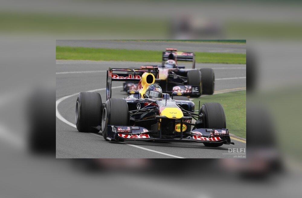 Vormel-1 hooaeg on alanud, Vettel näitas kvalifikatsioonis võimu